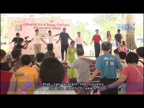 Ng Eng Hen: S'pore Conversation for people to decide it's 'important directions' - 07Apr2013