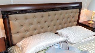 Спальная мебель. Спальня «Анжелика».(Спальни из натурального дерева Спальня «Анжелика» — итальянский дизайн этой классической спальни украсит..., 2016-10-31T13:41:46.000Z)