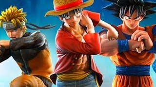 JUMP FORCE - LUFFY GOKU NARUTO ! ES UNA ABSOLUTA LOCURA