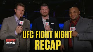 Gambar cover What's next after Curtis Blaydes KOs Junior Dos Santos? | UFC Fight Night Recap | ESPN MMA