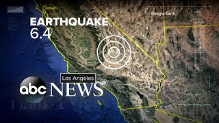 Southern California hit by its largest earthquake in 20 years