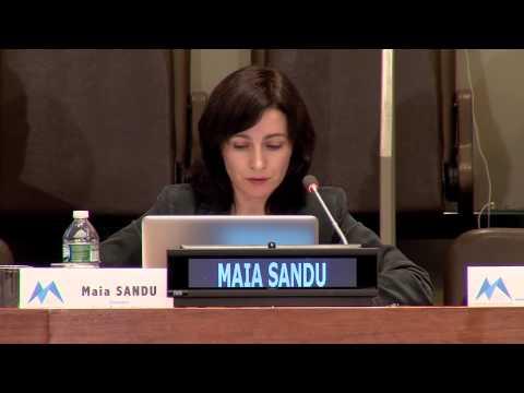 Keynote speaker - Maia Sandu