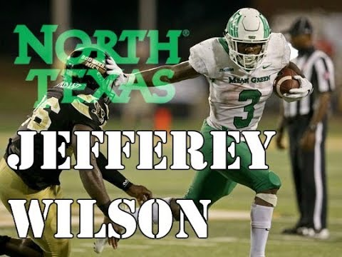 Jeffery Wilson || Most Underrated RB in America || North Texas 2017 Highlights