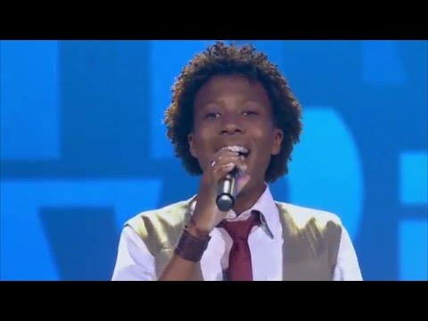 Felipe Adetokunbo canta 'At Last' no The Voice Kids - Audições | Temporada 1