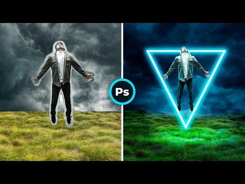 Неоновый свет Photoshop / Neon Effect Photoshop Tutorial