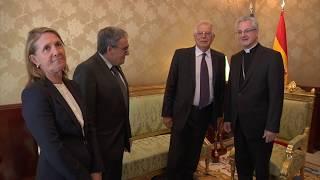 Visita de l'Excm. Sr. Josep Borrell, Minisitre d'Afers Exteriors