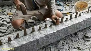 Cách mà họ làm ra những cây trụ đá# thật vi diệu#