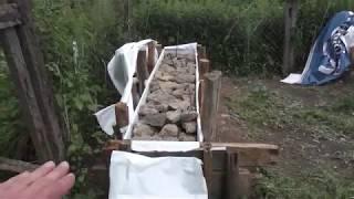 як зробити фундамент з каменів