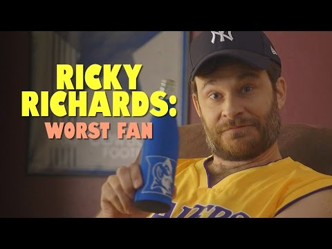 Ricky Richards: America's Worst Sports Fan? | Ep. 1