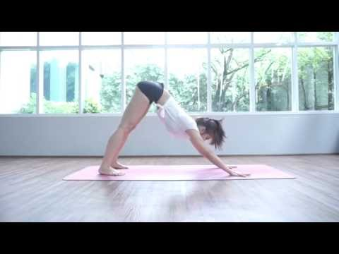 โยคะลดต้นแขน กระชับต้นแขน Yoga for strong arms by DR.MONVA