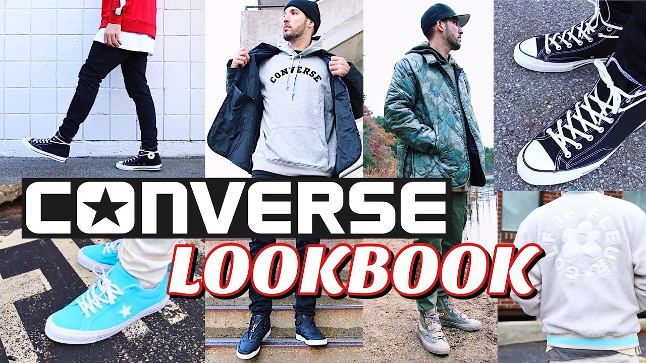 CONVERSE LOOKBOOK , How To Style Converse Sneakers , Chuck Taylor\u0027s , One  Star\u0027s , Fast Break