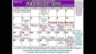 February - Hourly Rapture Watch!