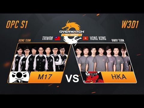 M17 vs HKA | W3D1 Match 2 | OPC S1