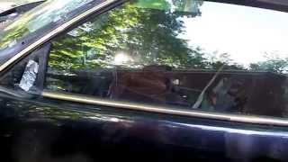 Mercedes sl  R129 door/fender plastic lower cladding/trim removal