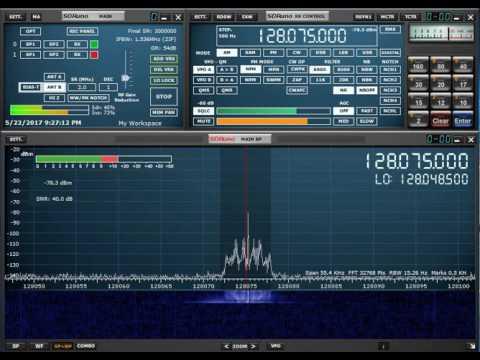 SDRplay VHF Aircraft Traffic with SDRuno running 3 VRX