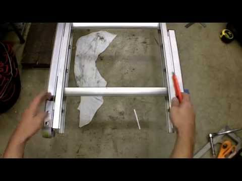 Werner Automatic Leg Levelers Review and Installation Model PK80-2