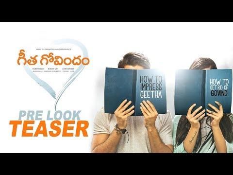 Vijay Devarakonda's Geetha Govindam PRE LOOK TEASER | #GeethaGovindam | Rashmika Mandanna