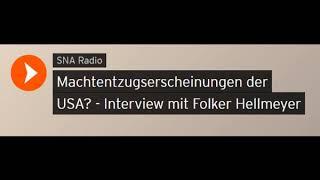 Machtentzugserscheinungen der USA? - Interview mit Finanzanalyst Folker Hellmeyer (Sputniknews)