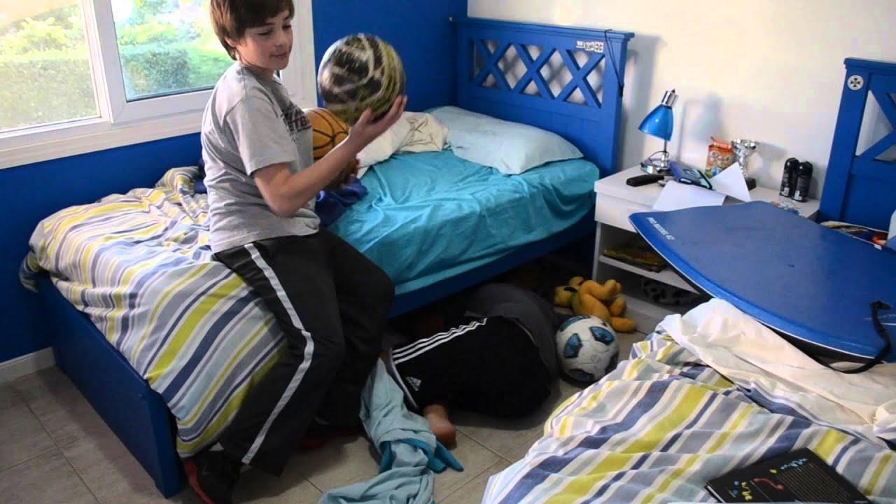 C mo ordenar mi cuarto joaquin y tadeo youtube - Ordenar habitacion ninos ...
