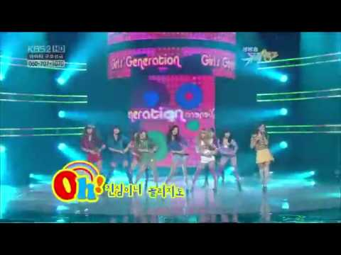 [HD] 100205 Oh - SNSD Comeback stage