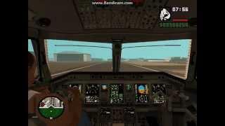 обзор мода:Работа пилота для Gta San Andreas
