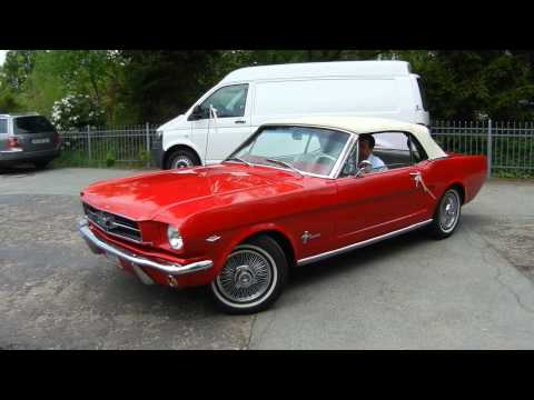 ford mustang 1964 cabrio 4 7 liter v8 289 cui exhaust. Black Bedroom Furniture Sets. Home Design Ideas