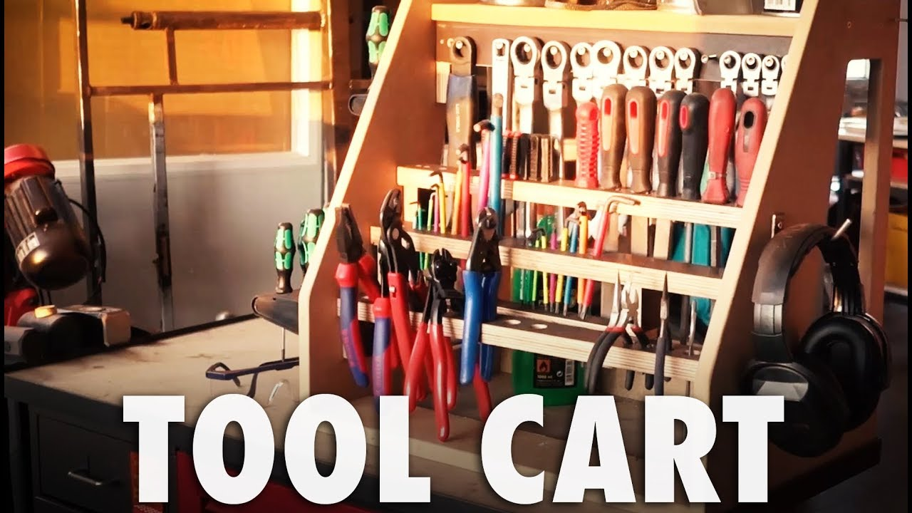 Tool Cart Adam Savage Style Youtube