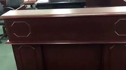 7462-67 DMI Andover Reception Lshape Desk