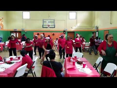 Jake Gaither Christmas Party - Zumba Dance Class Part 4
