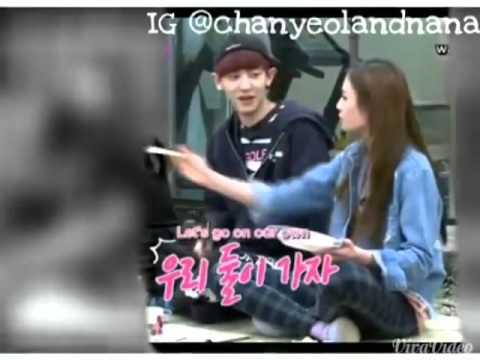 chanyeol dan Nana dating Dating carte de visite