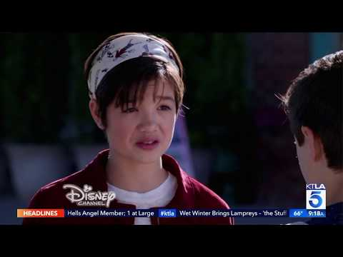 "Peyton Lee Dives In the Mature Themes of ""Andi Mack"""
