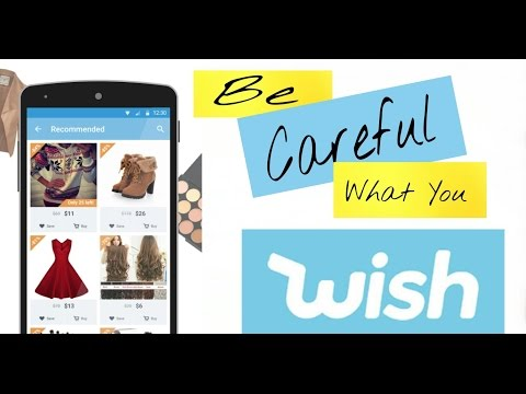 How to Shop at Wish