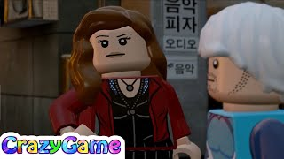 Lego marvel's avengers episode 10 - captain america, quicksliver, scarlet witch vs ultron
