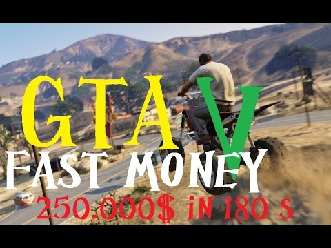 grand theft auto v glitch schnell geld machen fast money 250000 in 180 sekunden youtube. Black Bedroom Furniture Sets. Home Design Ideas