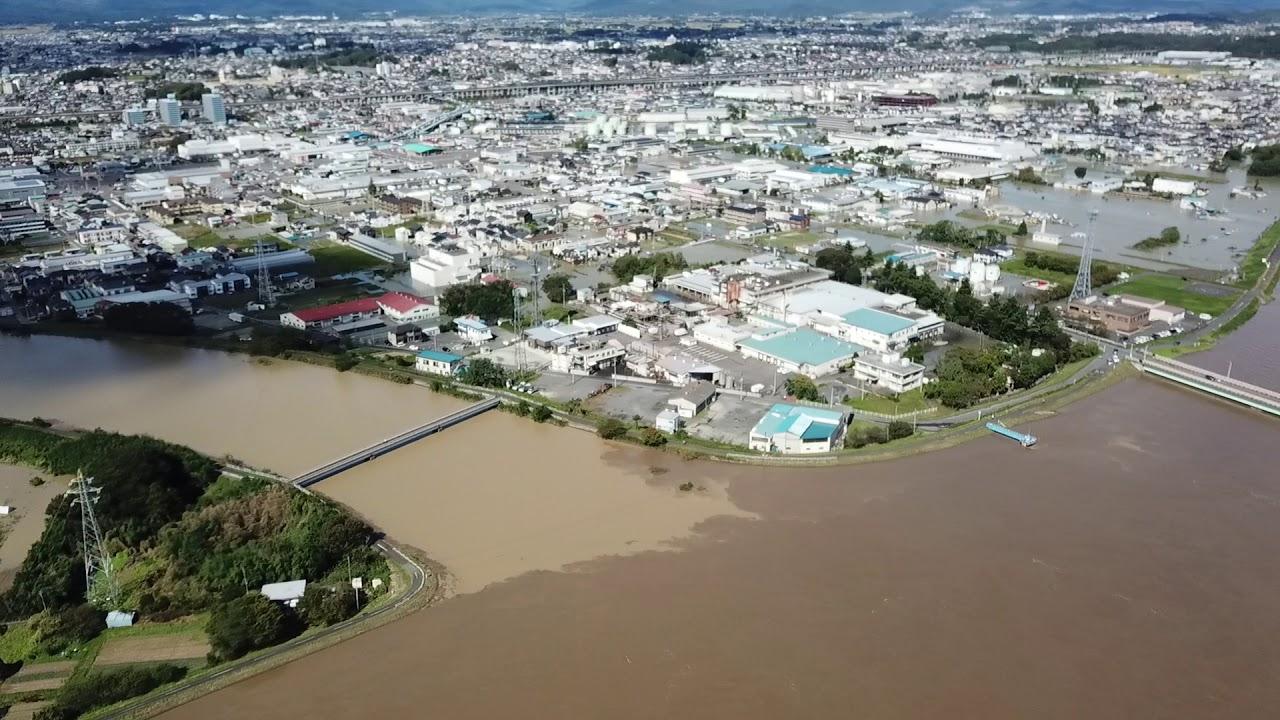 台風 19 号 福島 県