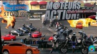 moteurs… action! stunt show spectacular- Hollywood studio Disneyland Paris Full show HD