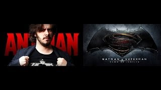 Big Man Rants Weekly Rundown: Edgar Wright leaves Ant-Man and Man of Steel sequel gets a title