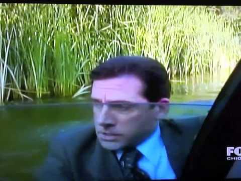 Michael Drives Car Into Lake
