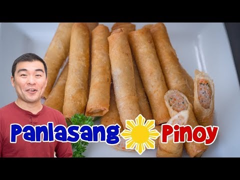 Panlasang Pinoy Lumpia Recipe Remake - Makeover Of Oldest Lumpia Video