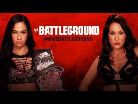 Brie Bella vs. AJ Lee - WWE '13 Battleground Simulation
