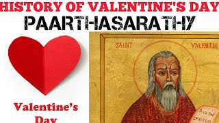 History of valentine's day| TAMIL | PAARTHASARATHY| PS