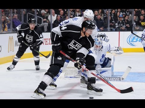 Vincent Lecavalier first goal as Kings
