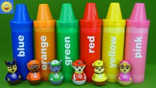 Paw Patrol Toys Teaching Colors Best Learning Video for Kids Alphabet Letter Sounds Weebles Toys