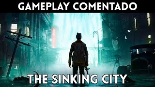 GAMEPLAY español THE SINKING CITY (PS4, XBOne, PC) Investigación, terror y misterio lovecraftiano
