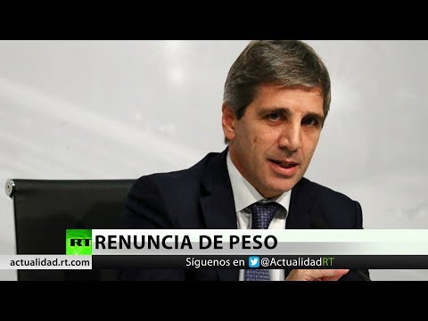 Argentina: Renuncia el presidente del Banco Central