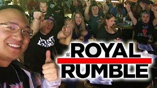 WWE Royal Rumble 2018 - Entrance Reaction (Men