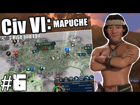 Civilization VI: Lautaro of the Mapuche - Episode 6: Spanish