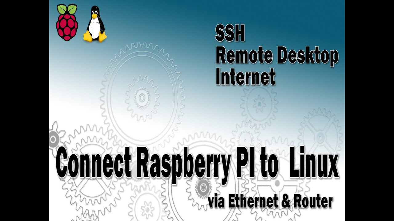 Raspberry Pi Connect To Linux Via Ethernet Lan And Router Youtube Internet Connection Diagram Remote Desktop From