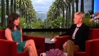 Aubrey Plaza Meets Ellen on The Ellen Degeneres Show