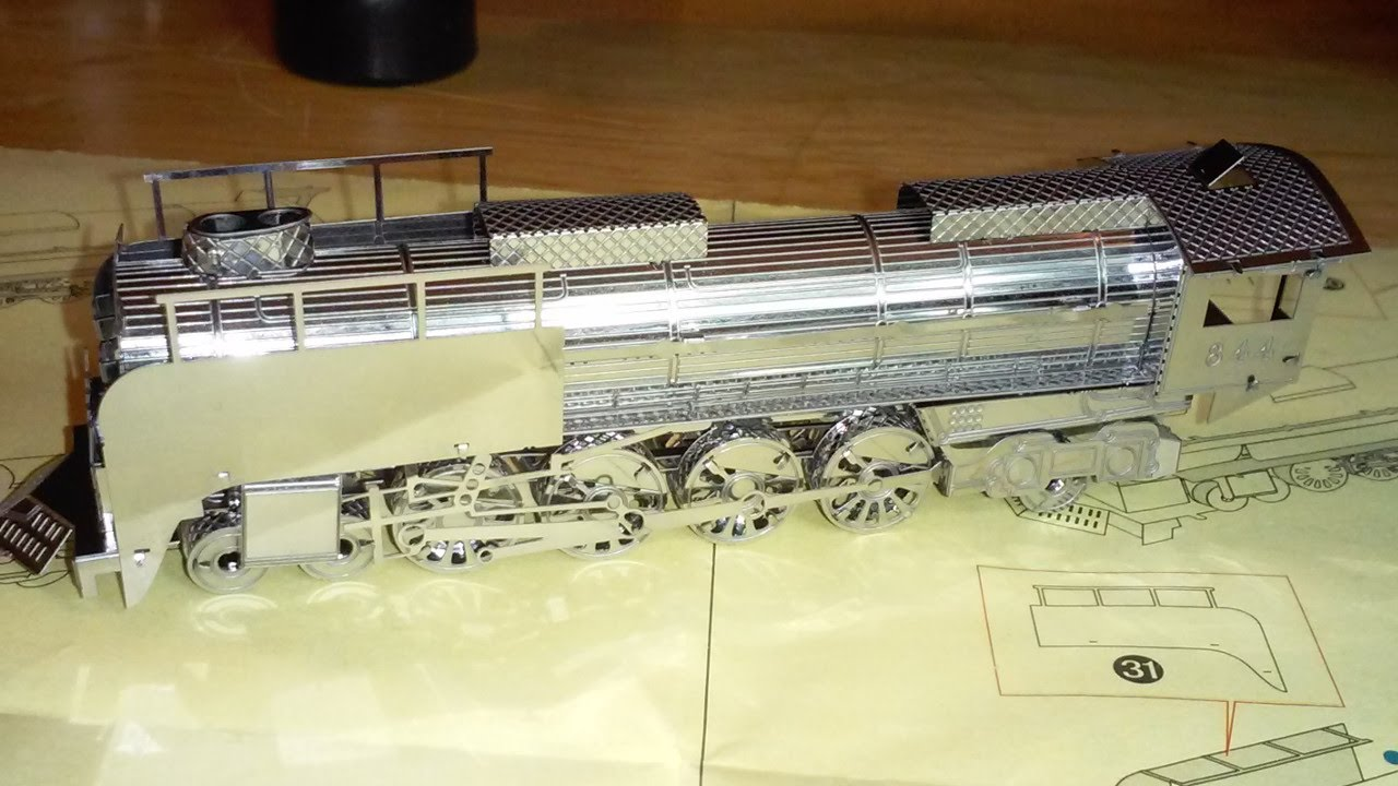 Build A Steam Locomotive Kit